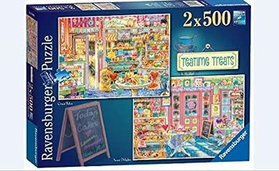 Ravensburger Teatime Treats 2X 500pc Jigsaw Puzzle