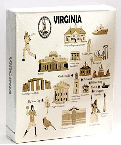 Virginia en relieve álbum de fotos 200fotos/4x 6 World By Shotglass virginia200