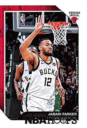 new products e8dbb 13dfb 2018-19 NBA Hoops Basketball  44 Jabari Parker Chicago Bulls Official  Trading Card made