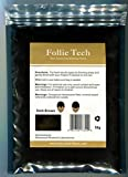 Follic Tech Hair Building Fibers Dark Brown 50 Grams Highest Grade Refill That You Can Use for Your Bottles from Competitors Like Toppik®, Xfusion®, Miracle Hair®