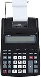 Staples 2409012 Spl-500 44780 12-Digit Desktop Calculator Black