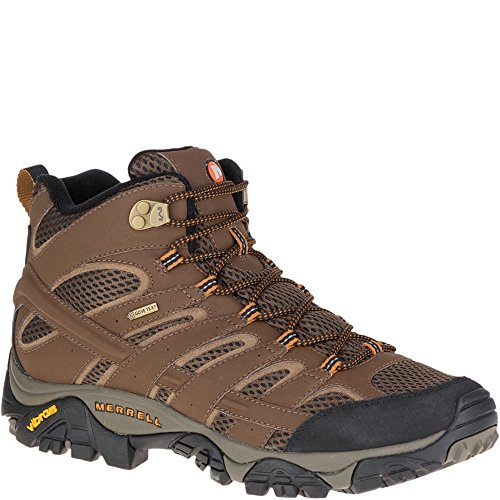 Merrell Men's High Rise Hiking Boots, Brown Earth, 47