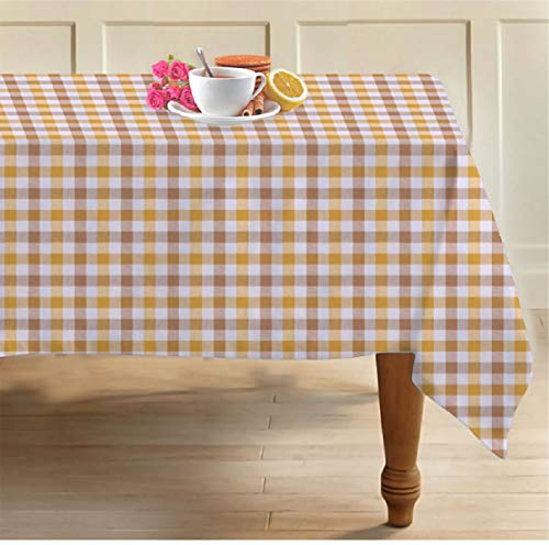 Airwill, 100% Cotton Self Designed 6 Seater Table Cloth, Pack of 1 pc. Price & Reviews