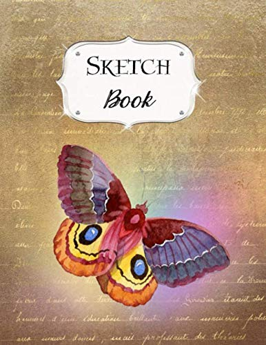 Sketch Book: Butterfly | Sketchbook | Scetchpad for Drawing or Doodling | Notebook Pad for Creative Artists | #5