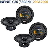 Infiniti G35 (sedan) 2003-2006 OEM Speaker Replacement Harmony (2) R65 Package