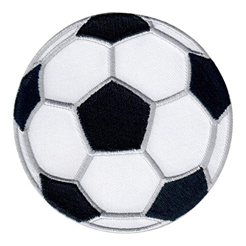 PatchMommy Soccer Ball Patch Football Sports, Iron On/Sew On - Appliques for Kids Children