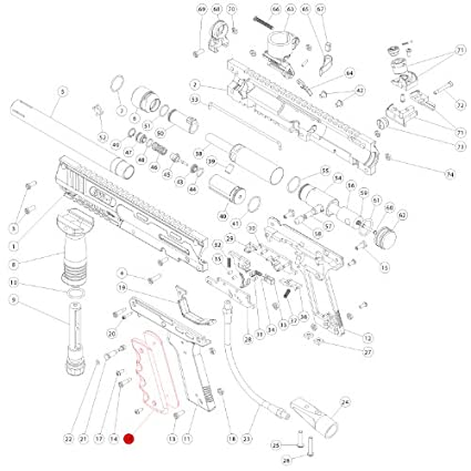 Pleasing Amazon Com Marker Parts Sw1 Part 16 Grip Paintball Gun Wiring Digital Resources Instshebarightsorg
