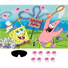 Spongebob Squarepants Party Game Poster (1ct)
