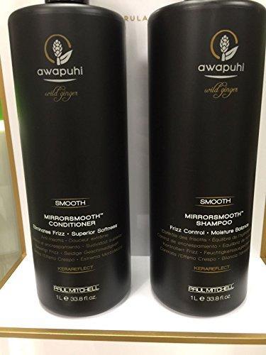 Paul Mitchell Awapuhi Wild Ginger Mirrorsmooth Shampoo & Conditioner Duo (33.8 oz)