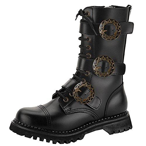Demonia - Defining Alternative Footware Stiefel STEAM-12