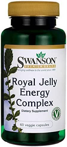 Swanson Royal Jelly Energy Complex 60 Veg Capsules
