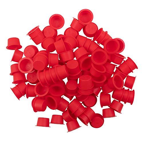 100 Piece Set Bag Transmission 11X type Caplugs Tail Shaft End Port Cap Yolk Fluid Plugs for Auto Repair Shop DIY (Tail Shaft Set)