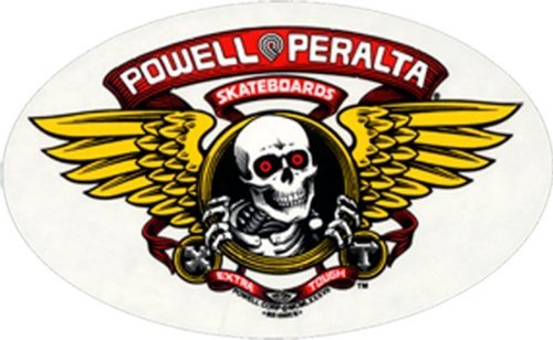 Powell Peralta Winged Ripper Decal (Skateboarding Ramp Plans)