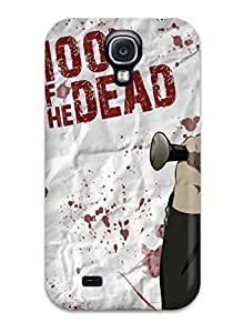 Flexible Tpu Back Case Cover For Galaxy S4 - Highschool Of The Dead