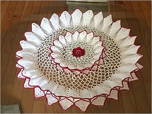 Crochet Tablecloth Pattern Books Elcho Table