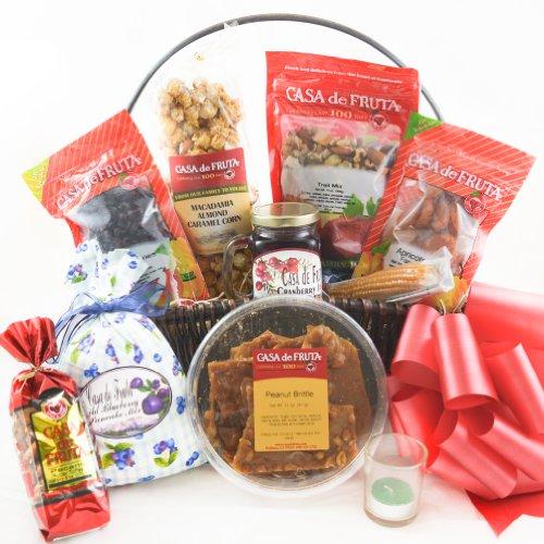Harvest of Thanks Basket - 59 oz. (D) - Casa De Fruta Basket