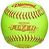 Diamond Asa Fast Pitch Flyer Leather Softballs 12'' 12 Ball Pack