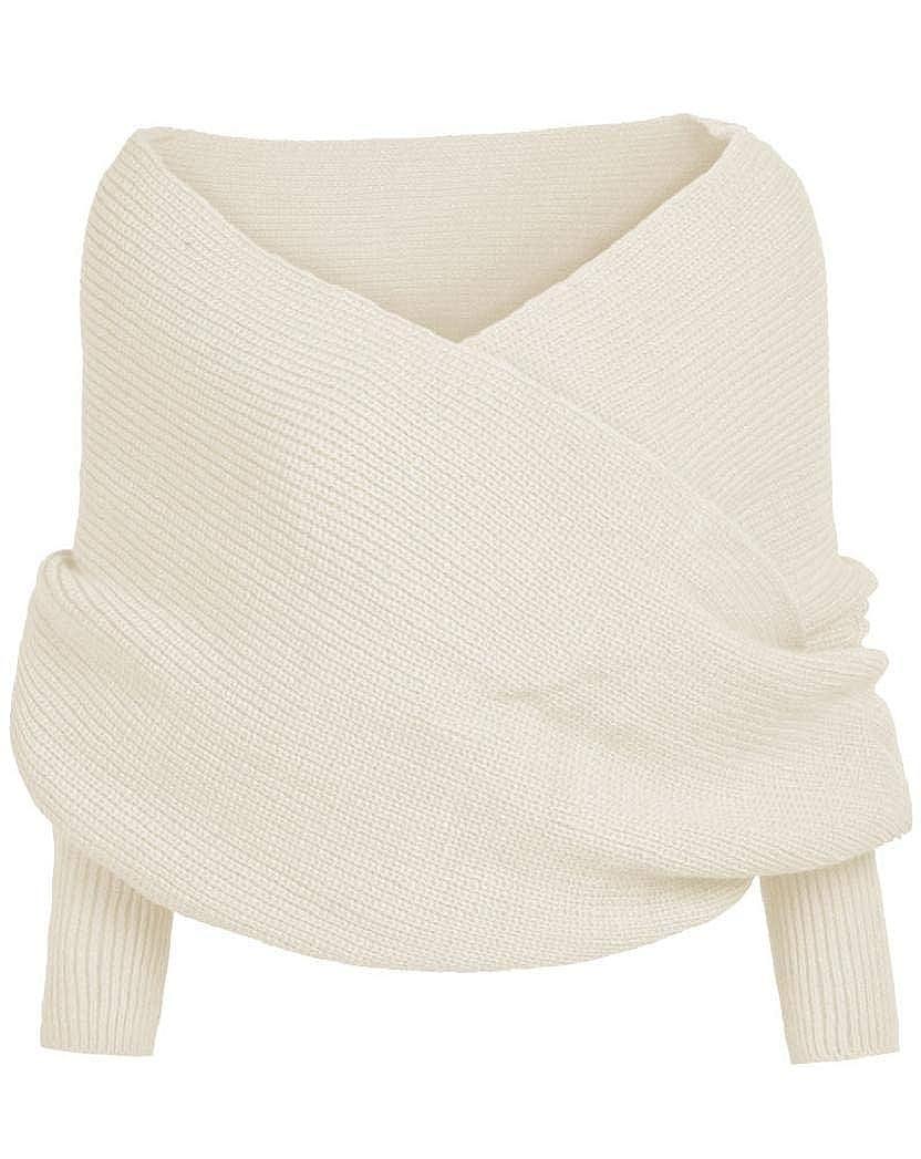 TININNA Vintage Scarf Sciarpa Tipo Cappotto del scialle