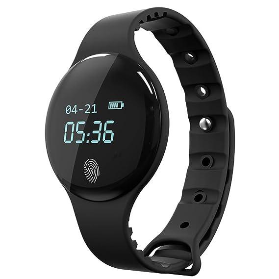 amstt Unisex Reloj Podómetro Smartwatch Fitness Reloj hombre mujer reloj de pulsera infantil juvenil Reloj Deportivo