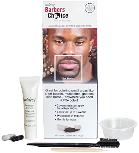 Godefroy Barbers Choice Mustache Application