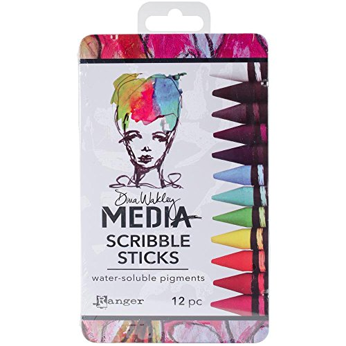 - Ranger - Dina Wakley Media - Scribble Sticks (A54733)
