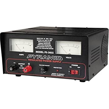 SA PS26KX Ower Supply 25 Amplifier Amp 6 To 15 Volt with Cooling Fan