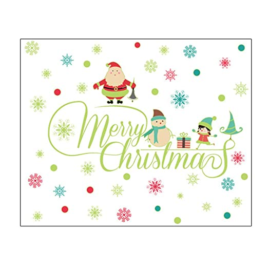 Topdo Pegatinas Pared Decorativas Navidad Pvc Decorativos
