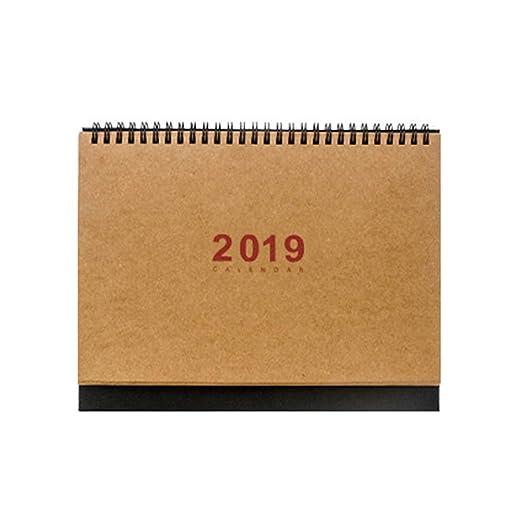 Calender 2019 - Planificador de mesa con soporte para hacer listas ...
