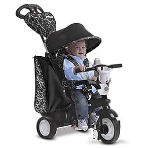 SmarTrike - Triciclo Chic, color negro y blanco (2038105500)