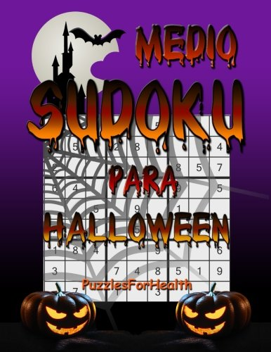 Sudoku para Halloween (Medio) (Spanish Edition)