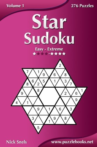 Download Star Sudoku - Easy to Extreme - Volume 1 - 276 Logic Puzzles PDF