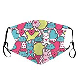 Kids Reusable Washable Face Covering with Ear