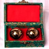 Emperors Golden Chinese Stress Balls - Chinese Exercise Balls