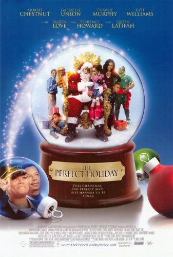 The Perfect Holiday Movie Poster (27 x 40 Inches - 69cm x 102cm) (2007) -(Morris Chestnut)(Terrence Howard)(Queen Latifah)(Faizon Love)(Gabrielle Union) (Morris Chestnut The Best Man Holiday)