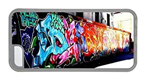 Hipster Cheap price for iphone 5/5S cases Graffiti Artwork TPU Transparent for Apple for iphone 5/5S
