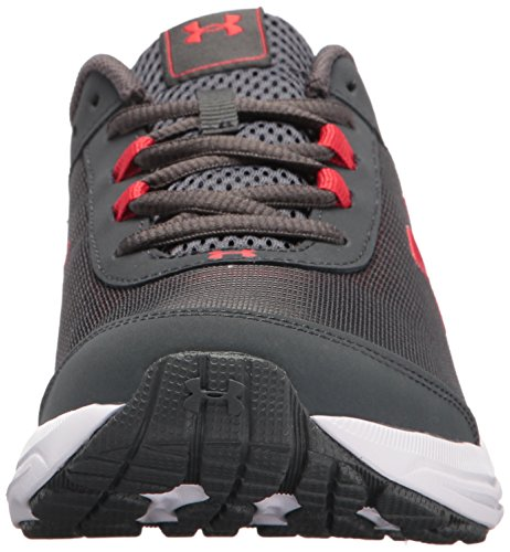 Under Armour Kids' Grade School Rave 2 Sneaker,Stealth Gray (100)/White,3.5 M US by Under Armour (Image #4)