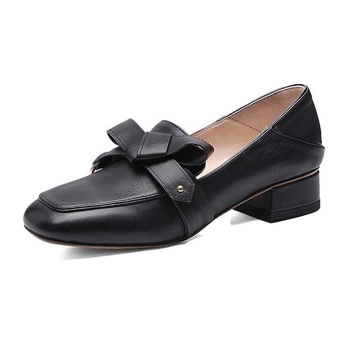 PLNXDM Zapatos De Trabajo De Oficina Con Zapatos De Tacón Bajo Mocasín Informal Para Mujeres Calzado Elegante Y Cómodo Zapatos Perezosos: Amazon.es: Ropa y ...