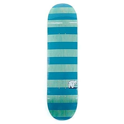 Polar Skate Co Bloc à rayures Planche de menthe Bleu sarcelle 21cm