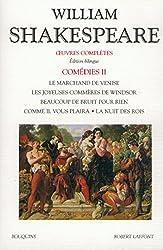 Comédies, tome 2 (édition bilingue anglais-français)