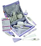 Safety 1st Deluxe Healthcare and Grooming, Lavender 25 Piece
