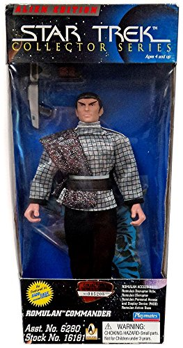 Collector Series Trek Star (Star Trek Collector Series - Romulan Commander)