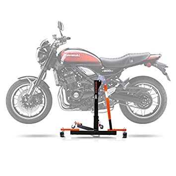 Center Paddock Stand Lift ConStands Power Evo Kawasaki Z 900 RS Cafe 2018 Orange