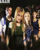 Lillix Autographed Signed CD Photo Cover & Proof AFTAL