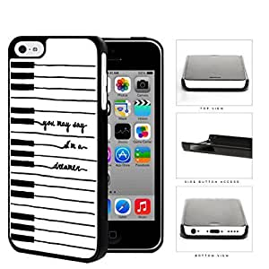 MMZ DIY PHONE CASEPiano Keys You May Say I'm A Dreamer Lyrics iphone 6 plus 5.5 inch Hard Snap on Plastic Cell Phone Cover
