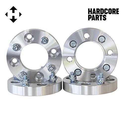 (4) 2'' (1'' Per Side) 4/110 ATV Wheel Spacers - Honda Yamaha Suzuki Can-Am Kawasaki 4x110 1.0 - SmartPartsCo by ATV Engineering (Image #2)