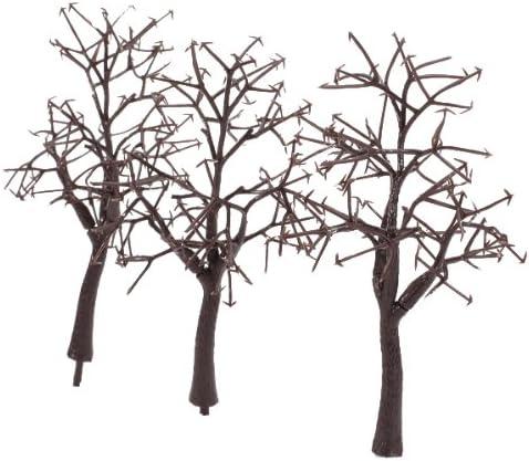 10本セット 樹木 木 モデルツリー 情景コレクションザ・鉄道模型・ジオラマ・建築模型・電車模型に 高さ12cm スケール:1:75