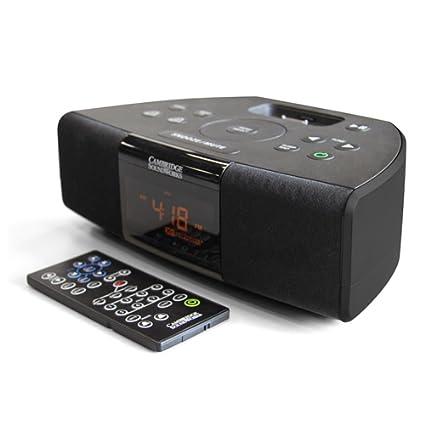 amazon com cambridge soundworks radio i525 compact table top radio rh amazon com
