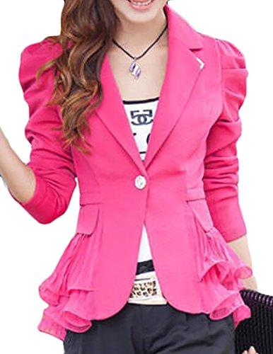 Puff Sleeve Jacket - 2