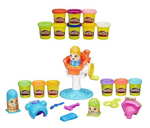 Play-Doh Crazy Cuts Playset Creative Hairstyles and Extra