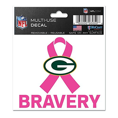 Packers Window Cling (Green Bay Packers BCA Bravery